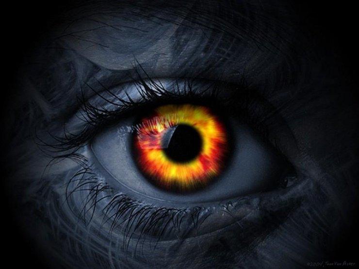 Göz - iblisin ən böyük silahıdır